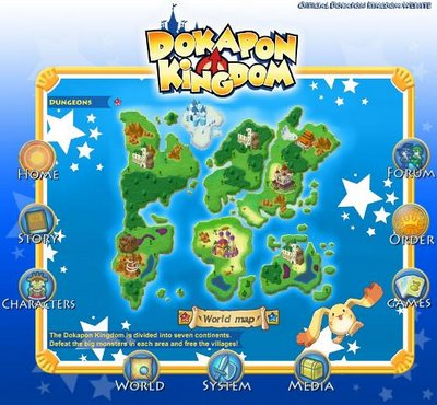 dokapon kingdom casino cave map