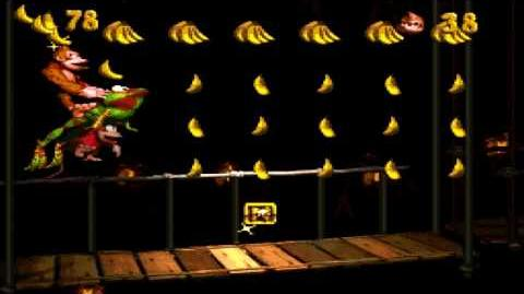 Donkey Kong Country (SNES) - Monkey Mines - Winky's Walkway