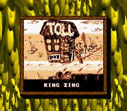 King Zing Credits Screen - Donkey Kong Land 2