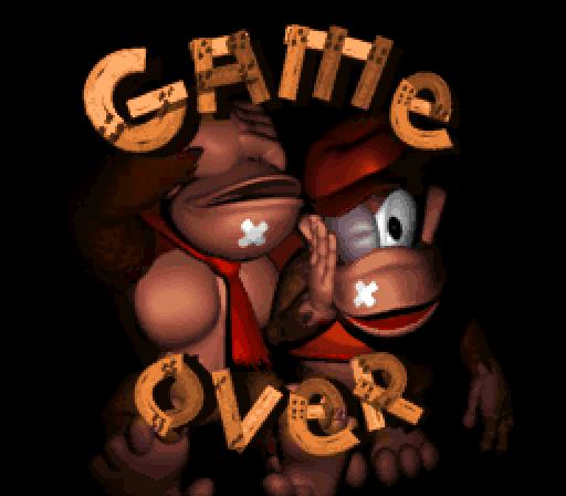 Game Over Screens - Donkey Kong Wiki - Wikia