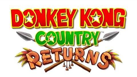 Donkey Kong Country Returns OST - World Map ~ Golden Temple