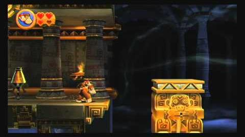 Donkey Kong Country Returns ~ World 1-K (Platform Panic) Puzzle Piece Guide