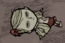 Wendy put to sleep by a mandrake