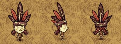 Feather Hat Wigfrid