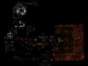 Classic Doom E1M2 Overhead