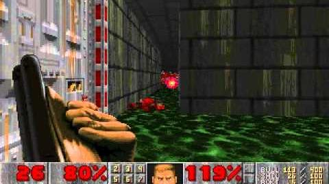 DOOM 2, Level 33 (XBox Exclusive Map)