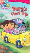 Dora the Explorer Dora's First Trip VHS