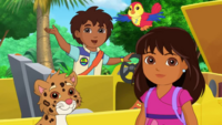 Dora & Friends For the Birds Diego & Jaguar