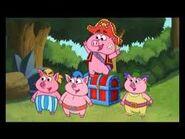 Pirate Piggies with the Treasure