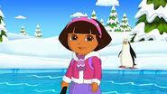 Dora and penguin