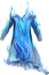 Chest blue fire fashioned