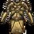 Chest hauberk gleaming gold