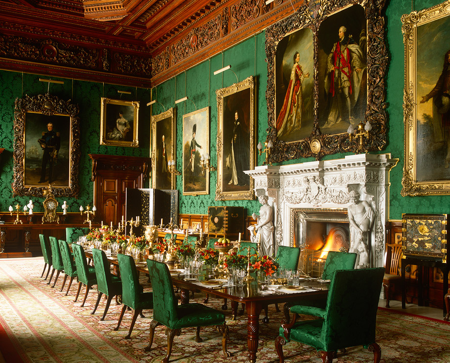 image - state-dining-room jpg 920x920 q85 | downton abbey wiki