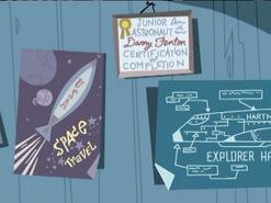 S02e17 junior astronaut certificate
