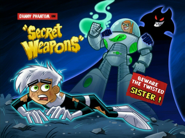Secret Weapons Danny Phantom Wiki Fandom Powered By Wikia