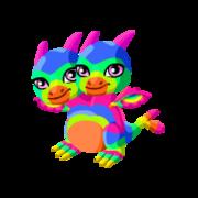 Double Rainbow Juvenile