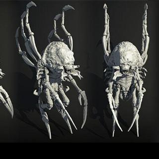 BioWare concept art of an adult Childer