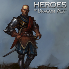 Artwork of Gaspard in '<i>Heroes of Dragon Age</i>