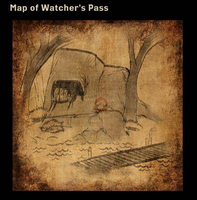 Map of Watcher's Pass