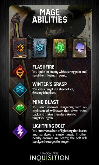 Mage talents promo