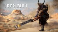 Iron bull the muscle