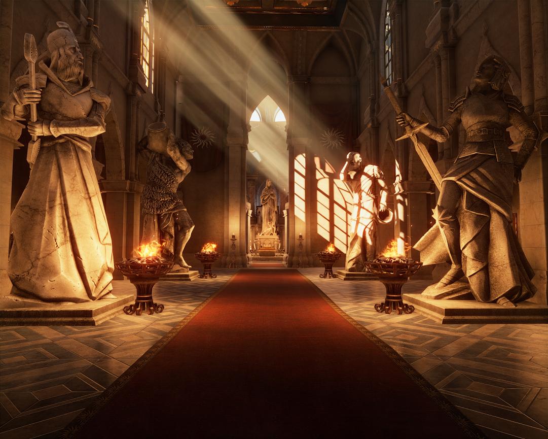 Dragon age церковь