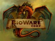 Logo bioware dragon