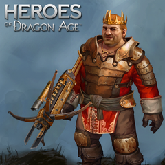 Promotional image of Viscount Varric in <i>Heroes of Dragon Age</i>
