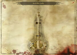 Map-Redcliffe Castle