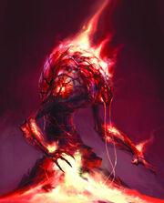 Rage demon concept art