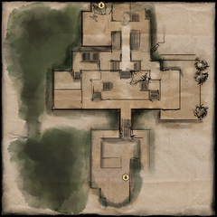 Main Level Map