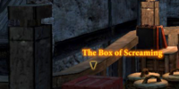 Codex entry: The Box of Screaming