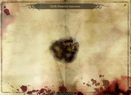 Map-Sloth Demon's Sanctum