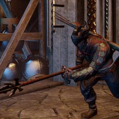 A Qunari 'Spearman'