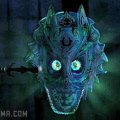 Tallis's dagger stuck in the Mask