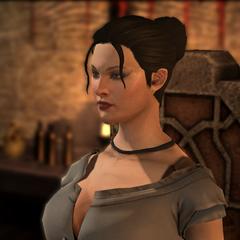 Norah, the barmaid