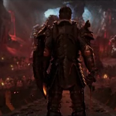 Backview of the Warden during the Calling trailer.