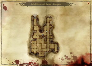 Map-Arl of Denerim's Estate - Dungeon