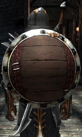File:DA2 Blank Heraldic Shield (round shield).png
