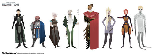 Inquisition character study concept