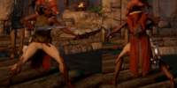 Isabela's Dueling Leathers (Marcher)