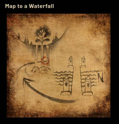 Map to a Waterfall