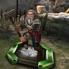 Lord Pyral Harrowmont as he appears in <i>Heroes of Dragon Age</i>