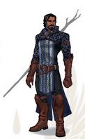 Grey Warden Mage Artwork