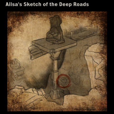 Ailsa's Sketch of the Deep Roads