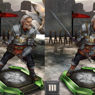 Tier progression of King Maric in <i>Heroes of Dragon Age</i>