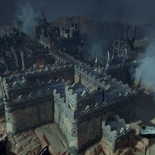 Overview of Adamant Fortress