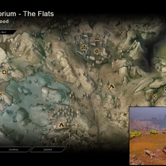 Tenebrium - Map Location