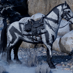 Frostback Mountain Horse