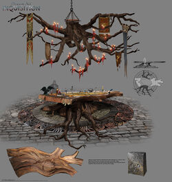 Inquisition War Table concept